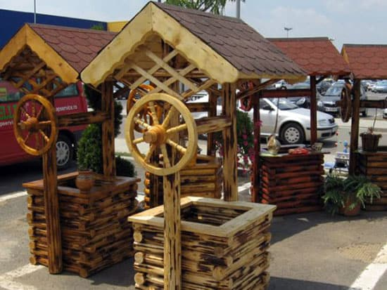 vand roti de lemn