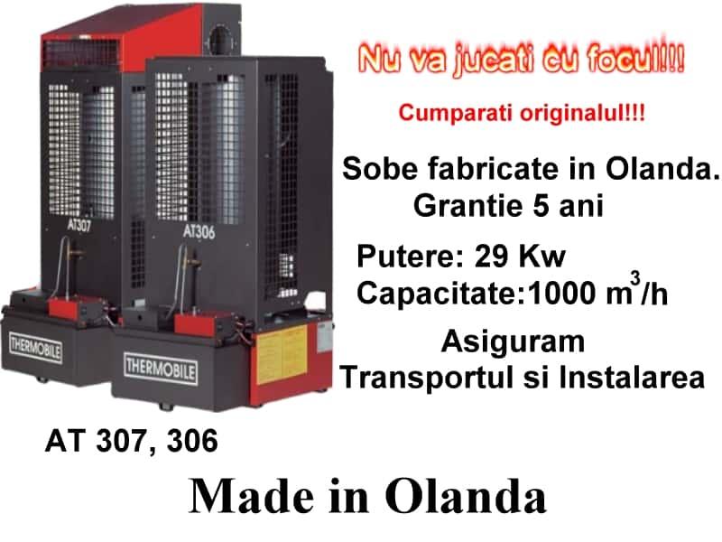 Sobe pe ulei ars, uzat acreditate C.E, fabricate in Olanda !!!
