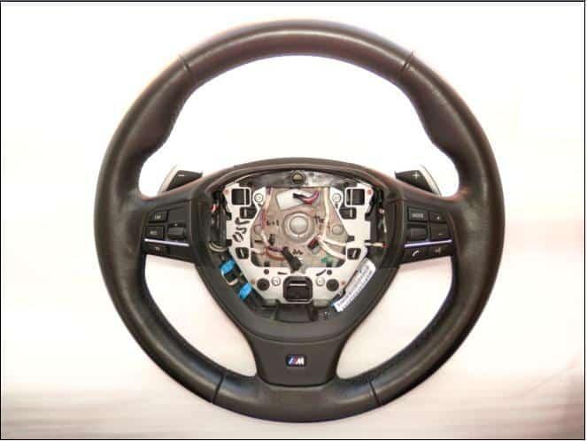 BMW  seria 7 F01 volan M piele si comenzi cu DSG, model  2009-2013