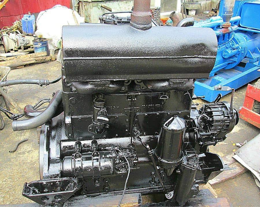 Motor Hanomag 4 pistoane