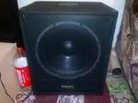 Vand Subwoofer activ Ibiza Sound 15 inch,garantie - Buzau