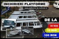 Inchiriem remorci si platforme NOI(750kg-2500kg)