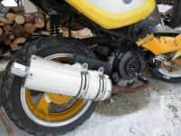 scuter firt bike avariat