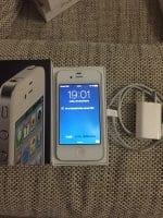 iphone 4 alb impecabil - buzau