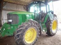 John Deere 6620 tractor - 4WD - 130CV
