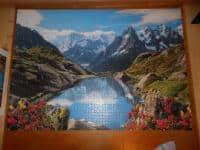 Vand puzzle facut