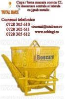 Cupa de beton cu descarcare laterala Total Race