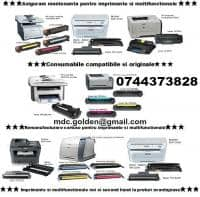 Servicii de Reincarcare Cartuse Laser pentru: HP, Samsung, Xerox,  Brother, Canon, Dell, Epson, Konica-Minolta, Kyocera-