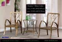 Set scaune si masa cafea din fier forjat