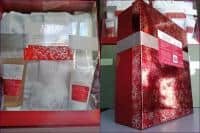 Cadoul Perfect ! Set wellness-spa cu halat de baie + cutie eleganta cadou