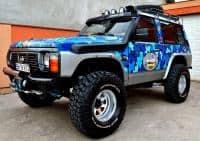 Nissan Patrol GR complet modificat si echipat