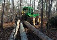 :  Tractorist forestier Germania