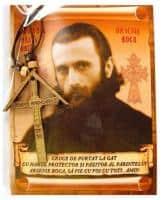 Colier Cruce cu Părintele Arsenie Boca