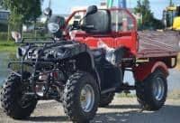 ATV200cc  basculantă automat + RG cu încărcare