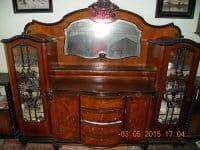 Ieftin mobila sufragerie de Arad stil Chippendale - anii 190 - BUZAU