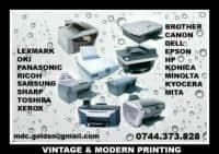 Util! Consumabile pentru imprimante, multifunctionale, copiatoare si faxuri.