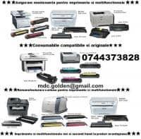 Livram consumabile rapid ptr. imprimante, multifunctionale, copiatoare si faxuri.