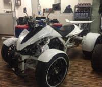 250cc SPY QUAD 14 '2 Persoane