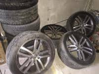 JANTE aliaj+anvelope pentru Audi Q7 dim. 275/40/20