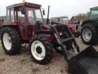 Tractor Fiat cu incarcator frontal