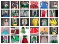 Costume serbare,ghiocel, narcisa, lacramioara, zana, soare, liliac...