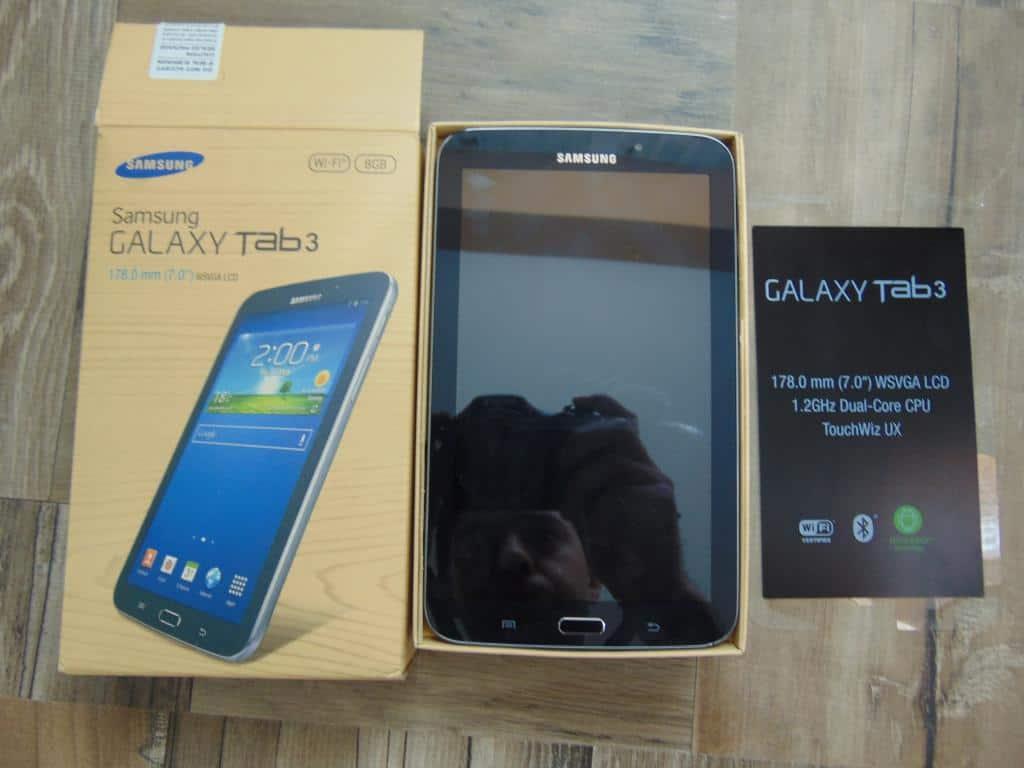 """Tableta Samsung Galaxy Tab3 T210 7"""", 8GB, Wi-Fi, RAM 1024 MB,Dual Core"""