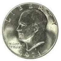 Vand 3 monede Dolari Eisenhower