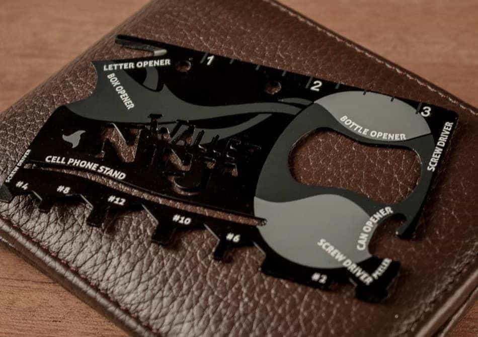 Vand card multifunctional Wallet Ninja 16 in 1