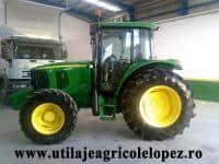 Vand tractor marca JOHN DEERE 6220