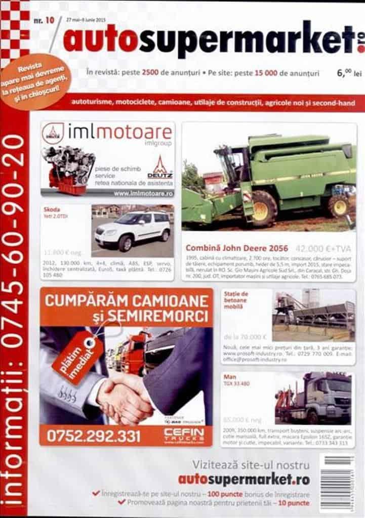 anunturi auto revista camion autosupermarket mica publicitate anunturi auto revista camion