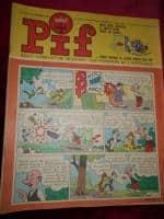 Vând 60 reviste Pif
