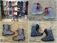 Snowboard si Boots