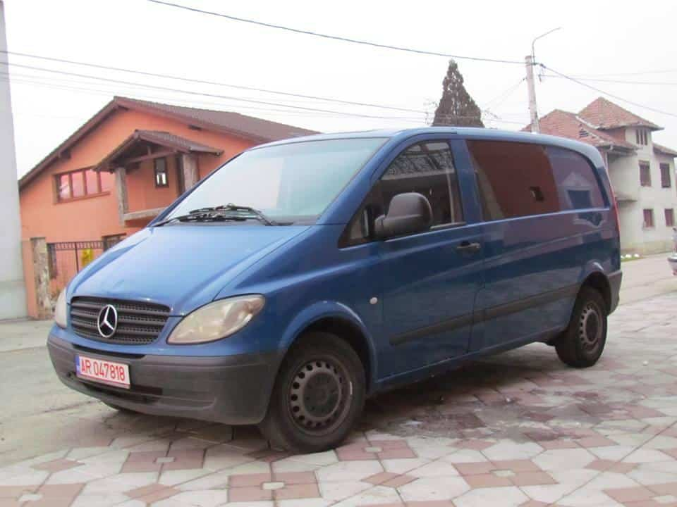 mercedes vito 109 cdi 2 2 cdi an 2006 mica publicitate. Black Bedroom Furniture Sets. Home Design Ideas