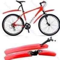 Set aripi,aparatori noroi bicicleta detasabile diverse culori late