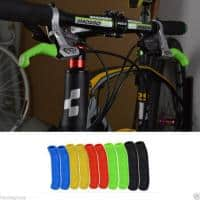 Set protectie din silicon manete de frana bicicleta,antiderapante grip