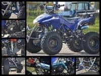 Atv Hond Alien 125cc Casca Bonus+Garantie