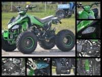 Atv Hond Raptor 125cc Casca Bonus+Garantie