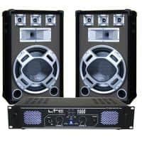 Kit sonorizare Ltc Audio DJ15BG 2 x 500 W