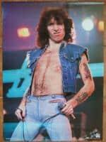 Poster Bon Scott (AC/DC)