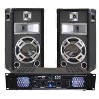 Sistem sonorizare LTC audio DJ10BG,2 x 250 W