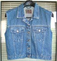 Vesta jeans dama JEP's Girls