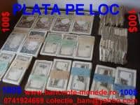 Colectionar, cumpar monede, bancnote vechi