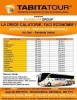 Tabita Tour - Cursa noua Romania - Austria - Germenia - Belgia - Olanda (TUR/RETUR)