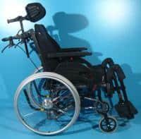 Scaun cu rotile handicap din aluminiu Netti /43 cm