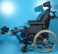 Scaun handicap cu rotile Breezy /42 cm
