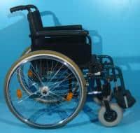 Scaun cu rotile handicap second hand Invacare