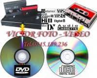 Copiem orice tip de caseta cu materiale video sau audio