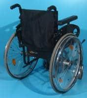 Scaun handicap din aluminiu / latime sezut 44 cm
