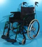 Carucior invalizi din aluminiu Sopur / latime sezut 45 cm