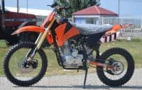 Nitro Hurricane Dirt bike 300cc